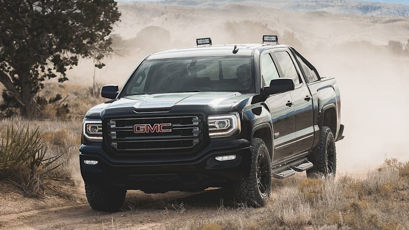 2016 gmc sierra all terrain x is cool but no raptor threat autoblog. Black Bedroom Furniture Sets. Home Design Ideas