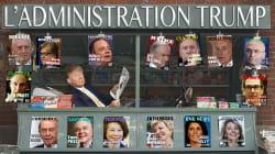 INFOGRAPHIE - L'administration Trump prend forme (et elle est très blanche et très