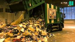 Que devient le contenu de la poubelle de tri une fois qu'elle quitte votre