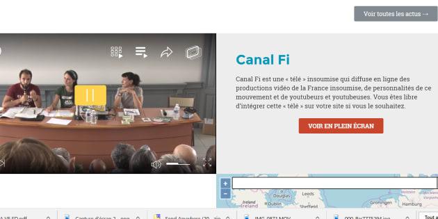 """La France insoumise lance """"Canal FI"""", son propre média qui n'est pas """"Le Média"""""""