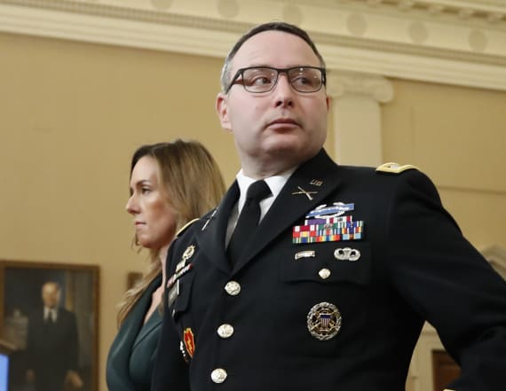 Army officer: It was my 'duty' to report Trump call