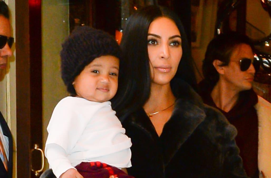 Kim Kardashian\'s photo of son Saint kicks off mommy-shaming debate ...