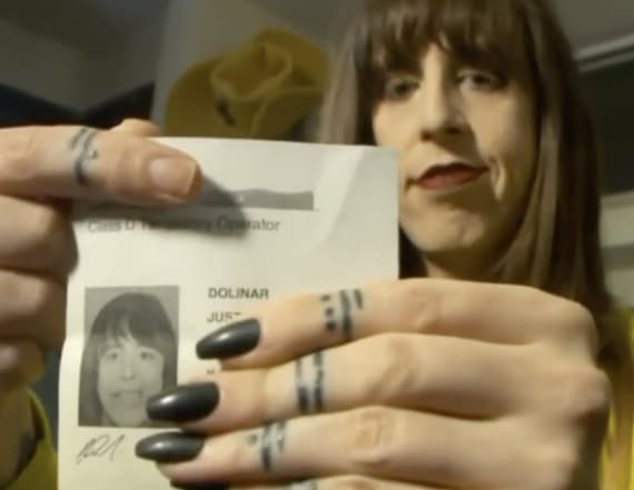 Trans woman forced to remove makeup for license pic