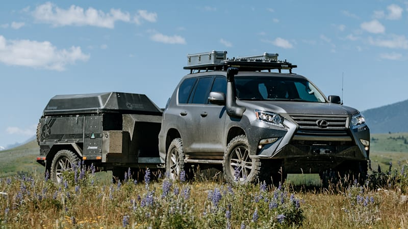 Lexus GXOR is a conceptual offering to the overlanding crowd