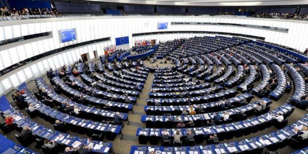 Imagen de archivo de la sede del Parlamento Europeo.