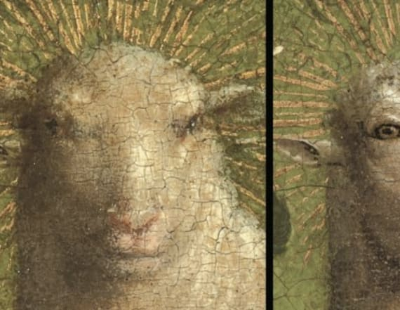 Internet in a tizzy over restoration of altarpiece