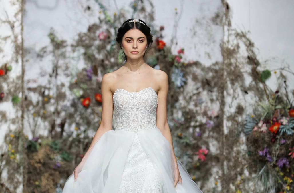 b939c69cc40 11 of the prettiest dresses from Bridal Week Spring Summer 2020 ...