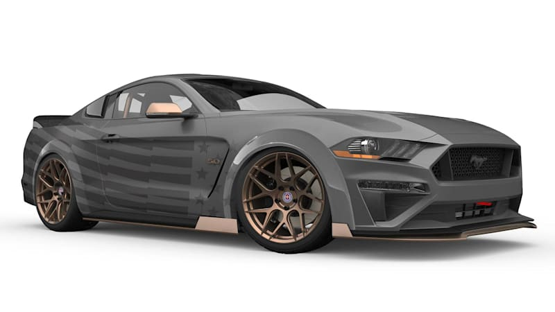 Ford is bringing five modified Mustangs to the 2018 SEMA Show