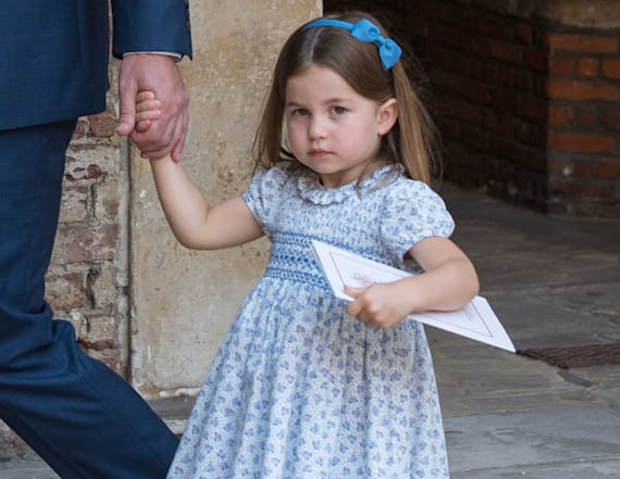 Why Princess Charlotte always wears a dress