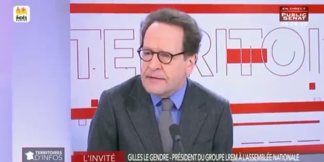 """Gilets jaunes: le chef des députés LREM pense que le gouvernement a été """"trop intelligent"""""""