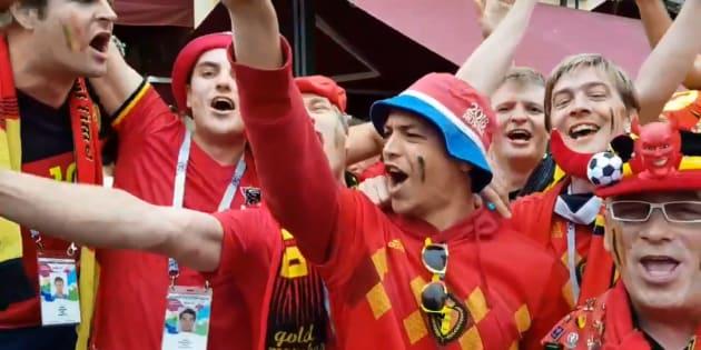 Les supporters belges n'ont pas hésité à détourner ce chant pour France-Belgique