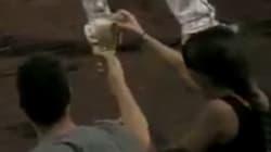 Vous pensez être un champion au beer pong? Vous ne faites pas le poids face à ce joueur de