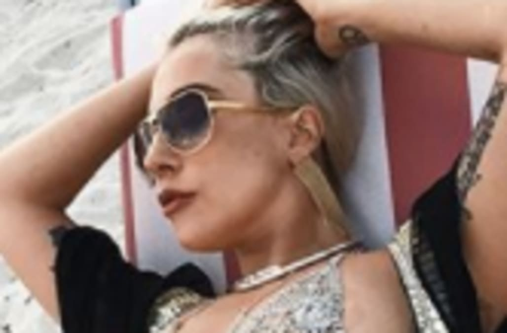 79776ca750a93 Lady Gaga flashes booty in racy thong Instagram - AOL Entertainment