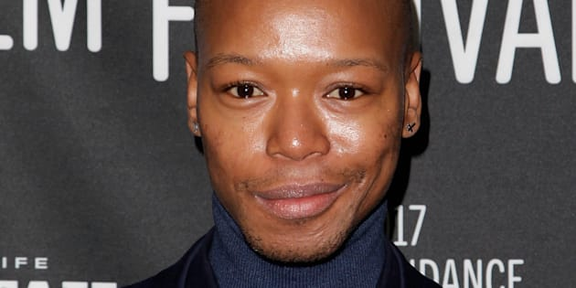 PARK CITY, UT - JANUARY 22:  Recording artist Nakhane Toure attends the 'The Wound' Premiere on day 4 of the 2017 Sundance Film Festival  at Prospect Square on January 22, 2017 in Park City, Utah.  (Photo by Tibrina Hobson/Getty Images for Sundance Film Festival)