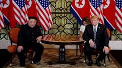 Donald Trump a mangé un steak interdit avec Kim