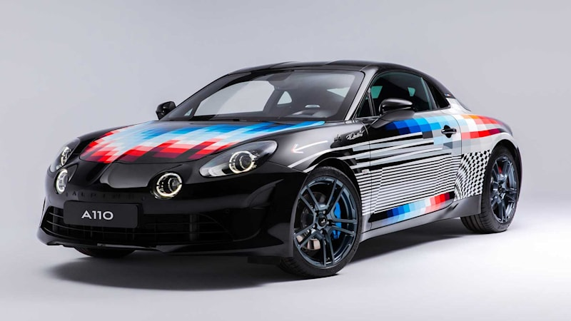 Alpine will sell three A110S art cars painted by Felipe Pantone