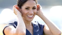 Meghan Markle vistió un vestido de mezclilla para un juego de Polo del Príncipe