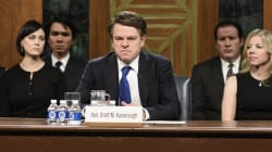Matt Damon Impersonates Brett Kavanaugh In Instantly Iconic 'SNL'