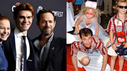 Luke Perry Went From Brooding Rebel To Iconic Dad, On And