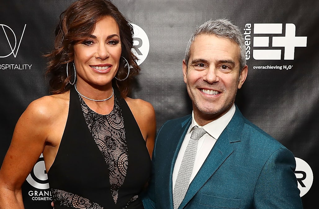 Image result for Andy Cohen reacts to Luann de Lesseps returning to rehab