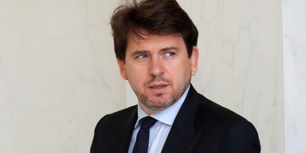 Sylvain Fort, ici à l'Elysée le 28 juin 2017, va quitter ses fonctions auprès du président de la République.