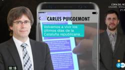 Puigdemont denuncia a Ana Rosa Quintana en Bélgica por difundir sus mensajes con