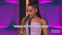 Ce discours d'Ariana Grande va rassurer tous les jeunes qui se sentent