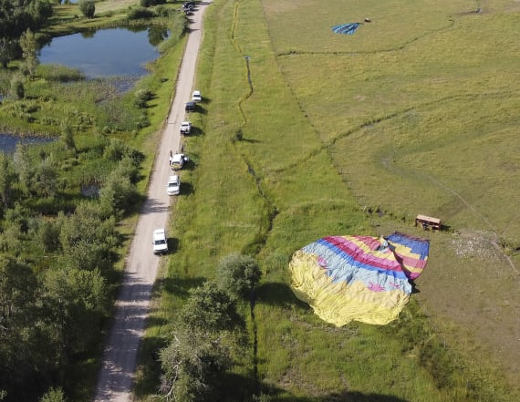 Up to 20 injured in 'terrifying' balloon accidents