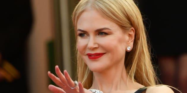 Nicole Kidman à Cannes le 22 mai 2017.