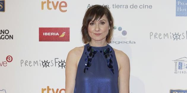 La actriz Nathalie Poza, en los Premios Forqué.