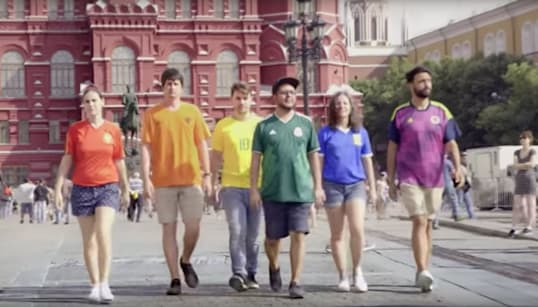 World Cup Protesters Create 'Hidden' Rainbow Flag In Support Of LGBTQ