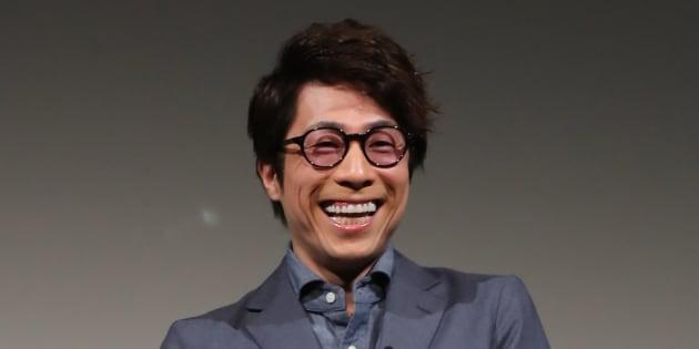 お笑いコンビ「ロンドンブーツ1号2号」の田村淳さん(2017年2月7日)