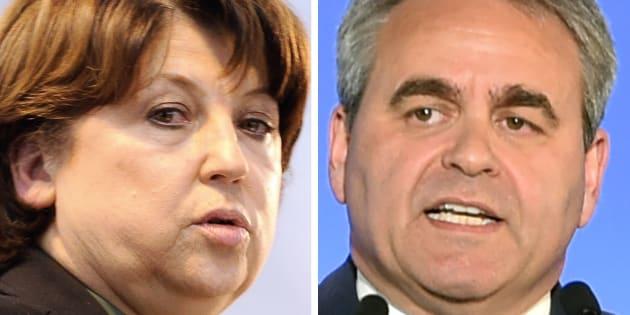 Martine Aubry et Xavier Bertrand en veulent très, très fort à Emmanuel Macron.