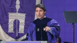 Justin Trudeau prêche le libre-échange aux