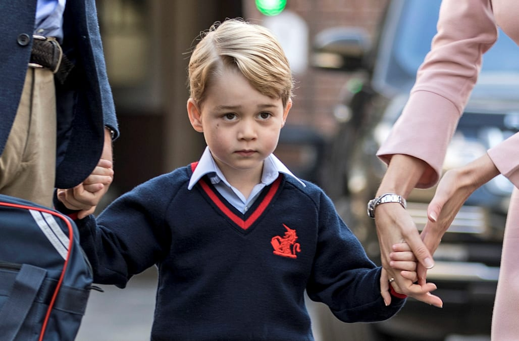 Prince George is learning to speak this foreign language (Hint: It's