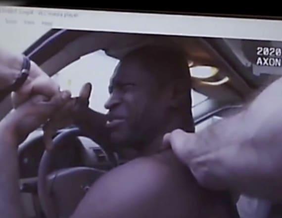 Video shows Floyd's heartbreaking plea to police