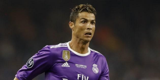 Cristiano Ronaldo en finale de la Ligue des Champions samedi 3 juin.