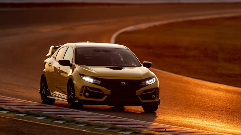 2021 Honda Civic Type R Limited Edition takes FWD lap record at Suzuka