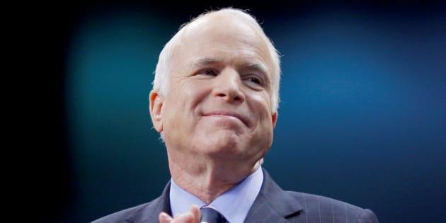 John McCain annonce avoir un cancer du cerveau