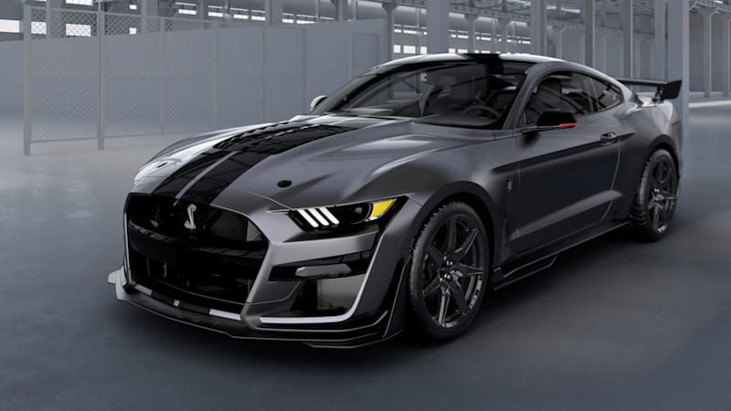 fe3c44afedd4 Ford raffling custom-painted Mustang Shelby GT500 for diabetes ...