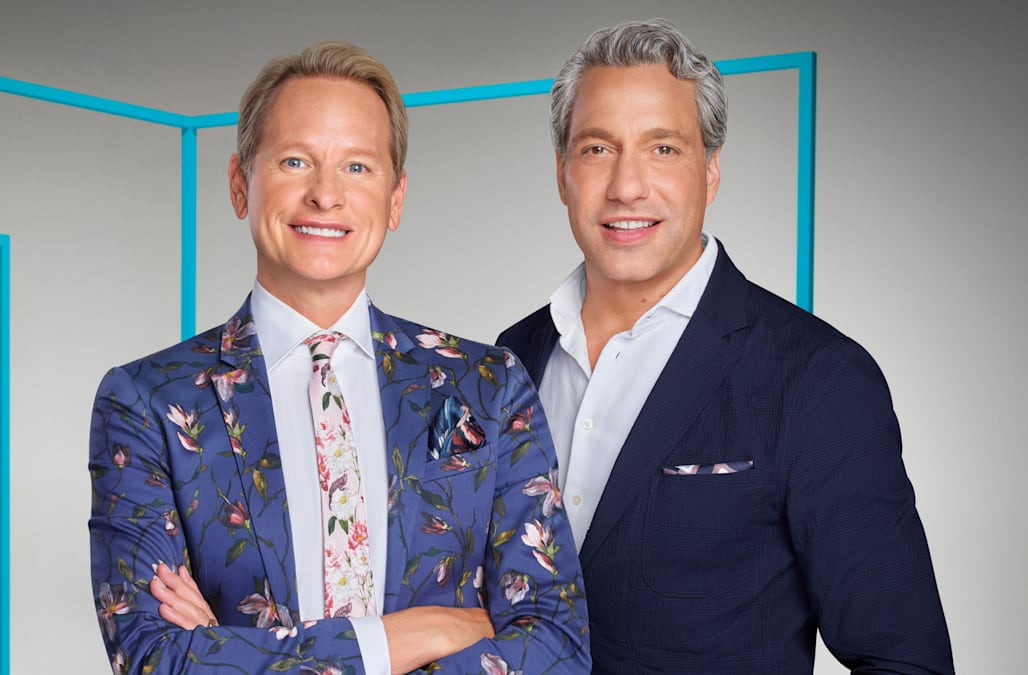 carson kressley thom filicia talk returning to bravo with. Black Bedroom Furniture Sets. Home Design Ideas