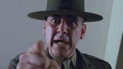 Militaire avant de faire du cinéma, R. Lee Ermey n'a pas eu à se forcer sa nature pour sa scène dans