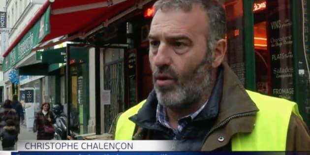 Reportaje de 'Informativos Telecinco' sobre los chalecos amarillos