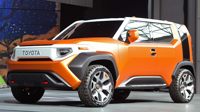 Toyota's next small crossover could be the TJ Cruiser