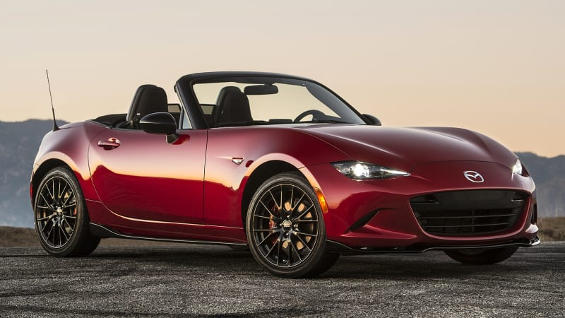 2019 mazda mx 5 miata may get more power autoblog. Black Bedroom Furniture Sets. Home Design Ideas