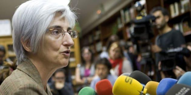 María José Segarra, en su etapa de fiscal jefe en Sevilla.