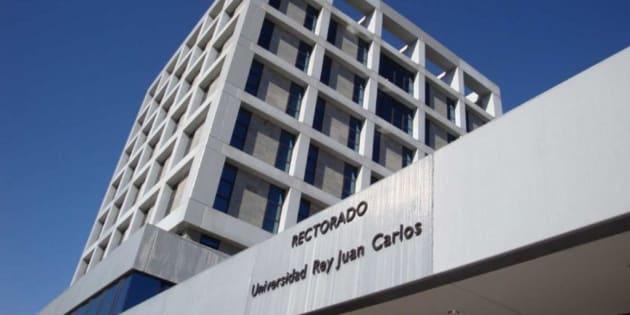 Imagen de archivo del rectorado de la Universidad Rey Juan Carlos, en Madrid.
