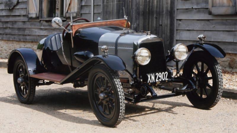Aston Martin's oldest car prepares for its 100th birthday bash