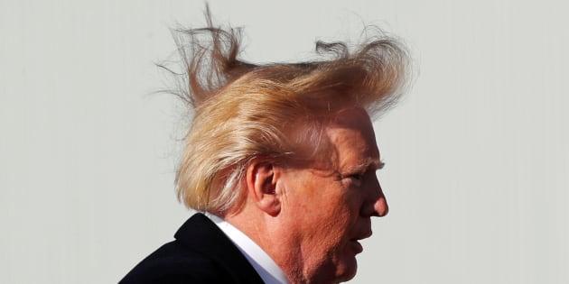 Imagen de archivo del presidente de EEUU, Donald Trump.
