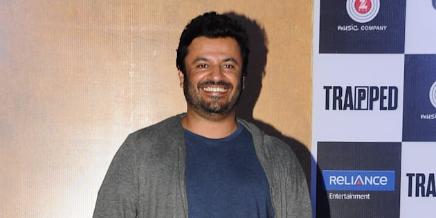 MUMBAI, INDIA - FEBRUARY 22: Bollywood filmmaker Vikas Bahl during the trailer launch of film Trapped on February 22, 2017 in Mumbai, India. (Photo by Prodip Guha/Hindustan Times via Getty Images)